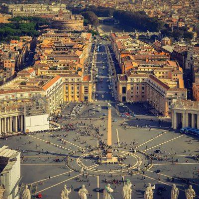 Вид на пл Ватикана